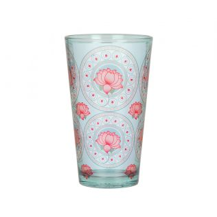 India Circus Platter Symmetry Glass Tumbler