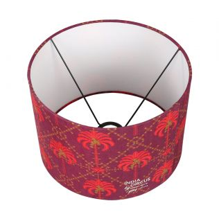 India Circus Poly Palmeria Cylindrical Lamp Shade