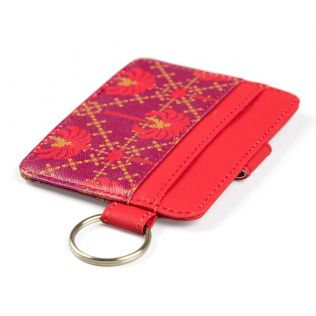 India Circus Poly Palmeria Keychain Card Holder
