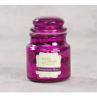 India Circus Pomegranate Rose Yankee Jar Candle