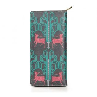 India Circus Pop Deer Dwar Travel Wallet