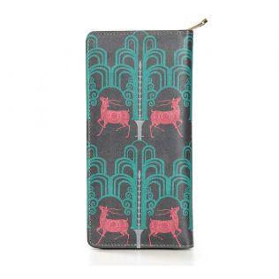 India Circus Pop Deer Dwar Travel Wallet