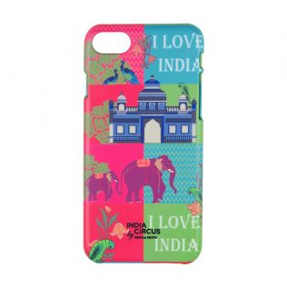 India Circus Pop Patriot iPhone 8 Cover
