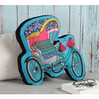 India Circus Pop Tanga Shaped Cushion