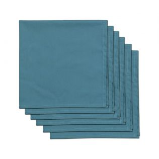 India Circus Presidential Blue Table Napkin Set of 6