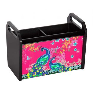 India Circus Pride of the Feather Train Desk Organizer
