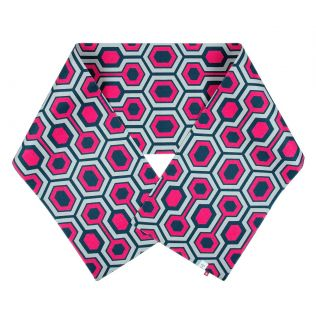 India Circus Prismatic Hexagons Bed and Table Runner