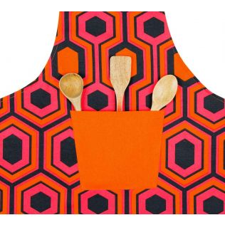 India Circus Prismatic Hexagons Kitchen Apron