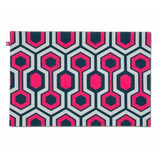 India Circus Prismatic Hexagons Table Mat Set of 6