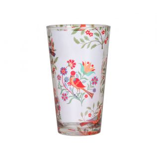 India Circus Psittacines Enquiry Glass Tumbler