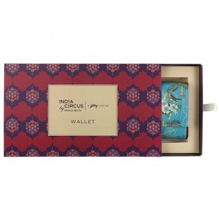 India Circus Robin Bird Park Ladies Wallet