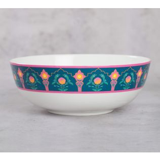 India Circus Rose Creeper Serving Bowl
