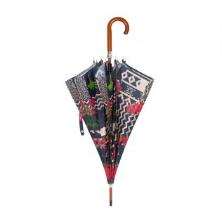 India Circus Rose Garden Maze Umbrella