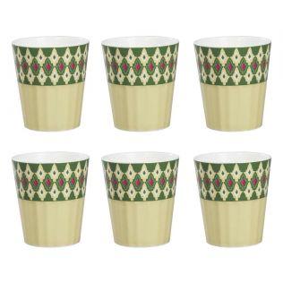 India Circus Rose Mallow Moscheutos Chai Glass