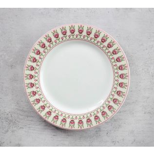 India Circus Rose Mallow Moscheutos Quarter Plate
