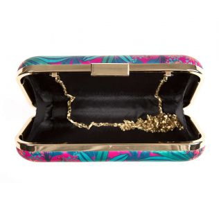 India Circus Royal Palms Clutch