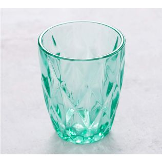 India Circus Sassy Salute Small Glass Tumbler