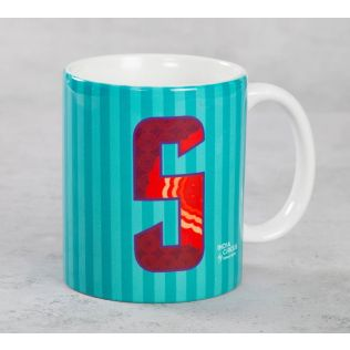 India Circus Sophisticated Alphabet S Mug
