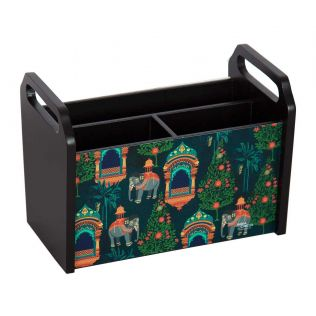 India Circus Sovereign Cavaliers Desk Organizer