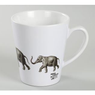 India Circus Stanced Mastodon Coffee Mug