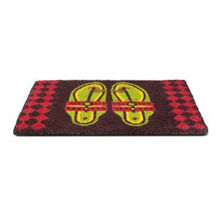 India Circus Step in Style Blue Doormat