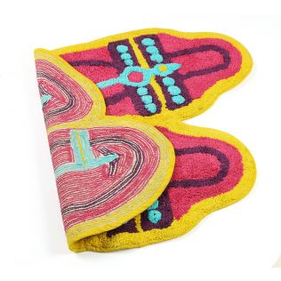 India Circus Step in Style Shape Bath Mat