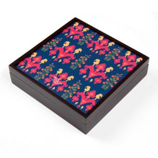 India Circus Sunshine Florist Small Storage Box