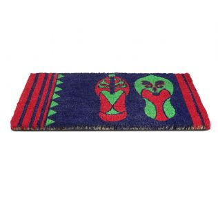 India Circus Technicolor Jootis Blues Doormat