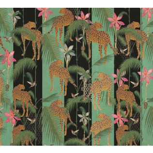 India Circus The Famished Cheetah Gift Wrapping Paper