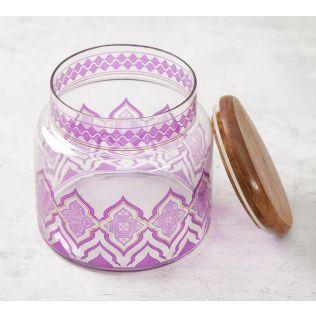 India Circus The Morning Glory Glass Jar