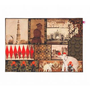 India Circus The Mughal Era Table Mats Set of 6