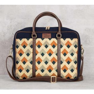 India Circus Tiled Inception Laptop Bag