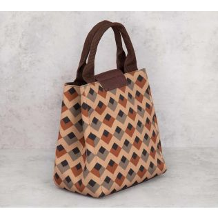 India Circus Tiled Inception Lunch Bag