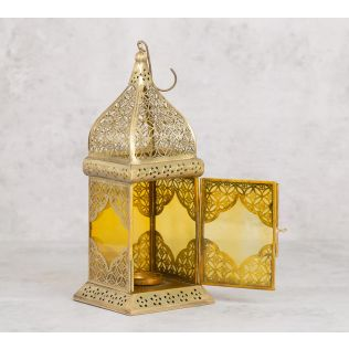 India Circus Tomb Window Candle Lantern