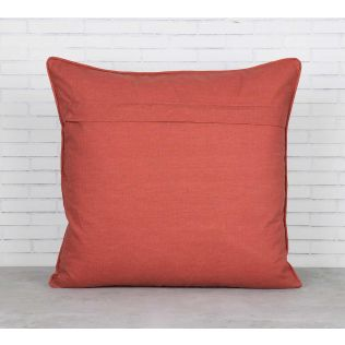 India Circus Trapped Dahlia Blended Taf Silk Cushion Cover