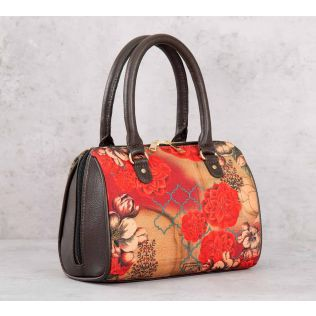 India Circus Trapped Dahlia Small Duffle Bag
