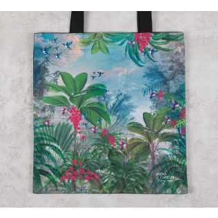 India Circus Tropical View Jhola Bag