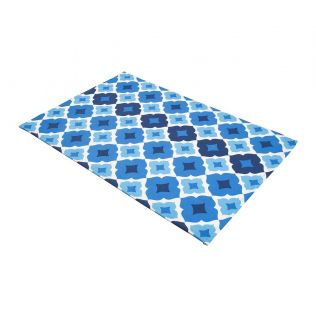 India Circus Ultramarine Tracery Kitchen Towel