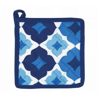 India Circus Ultramarine Tracery Pot Holder