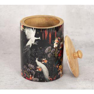India Circus Vintage Spring Medium Wooden Jar
