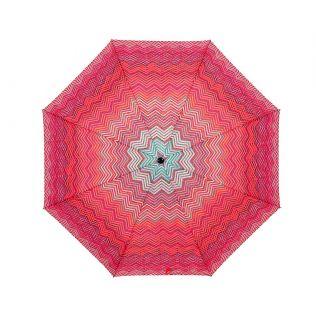 India Circus Waves of Chevron 3 Fold Umbrella