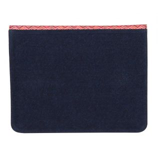 India Circus Waves of Chevron Denim iPad Sleeve