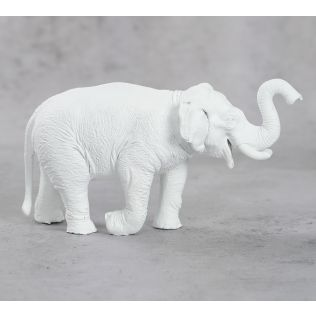 India Circus White Baby Tusker Figurine