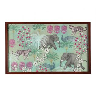India Circus Wildlife Safari Breakfast Tray