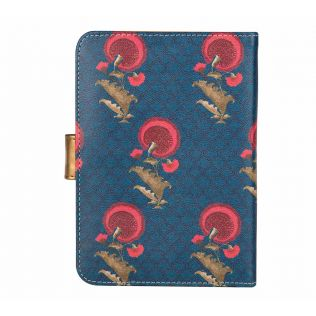 India Circus Yale Flower Regalia Passport Cover