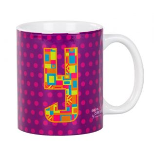 India Circus Youthful Alphabet Y Mug