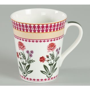 India Circus Verdure Mystery Zing Mug (Set of 2)
