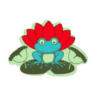 Lotus Toad MDF Fridge Magnet