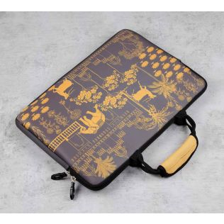 India Circus Palatial Courtyard Laptop Sleeve and Bag