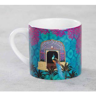 India Circus Phasianidae Monastery Expresso Mug